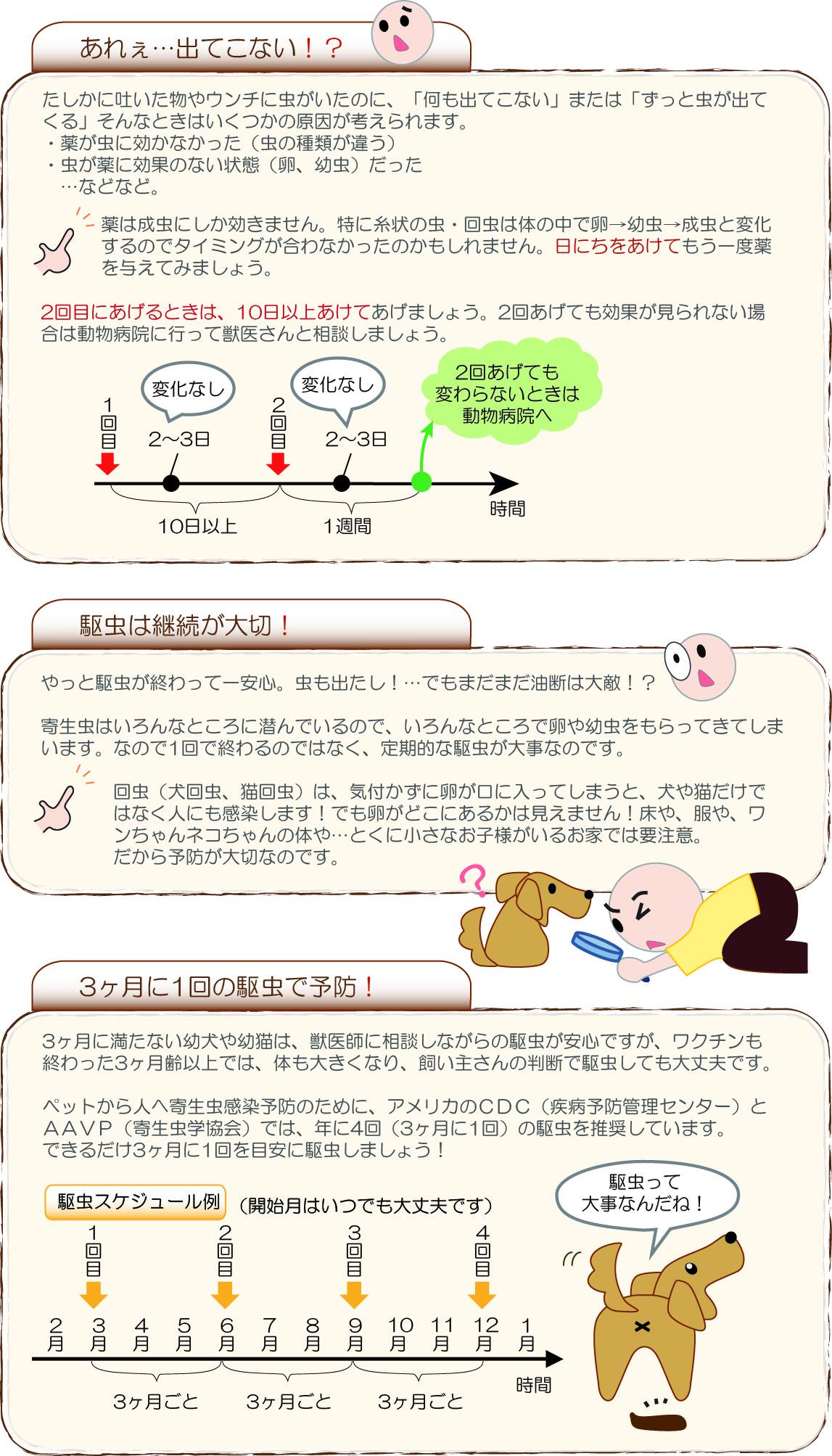 駆虫薬の説明3